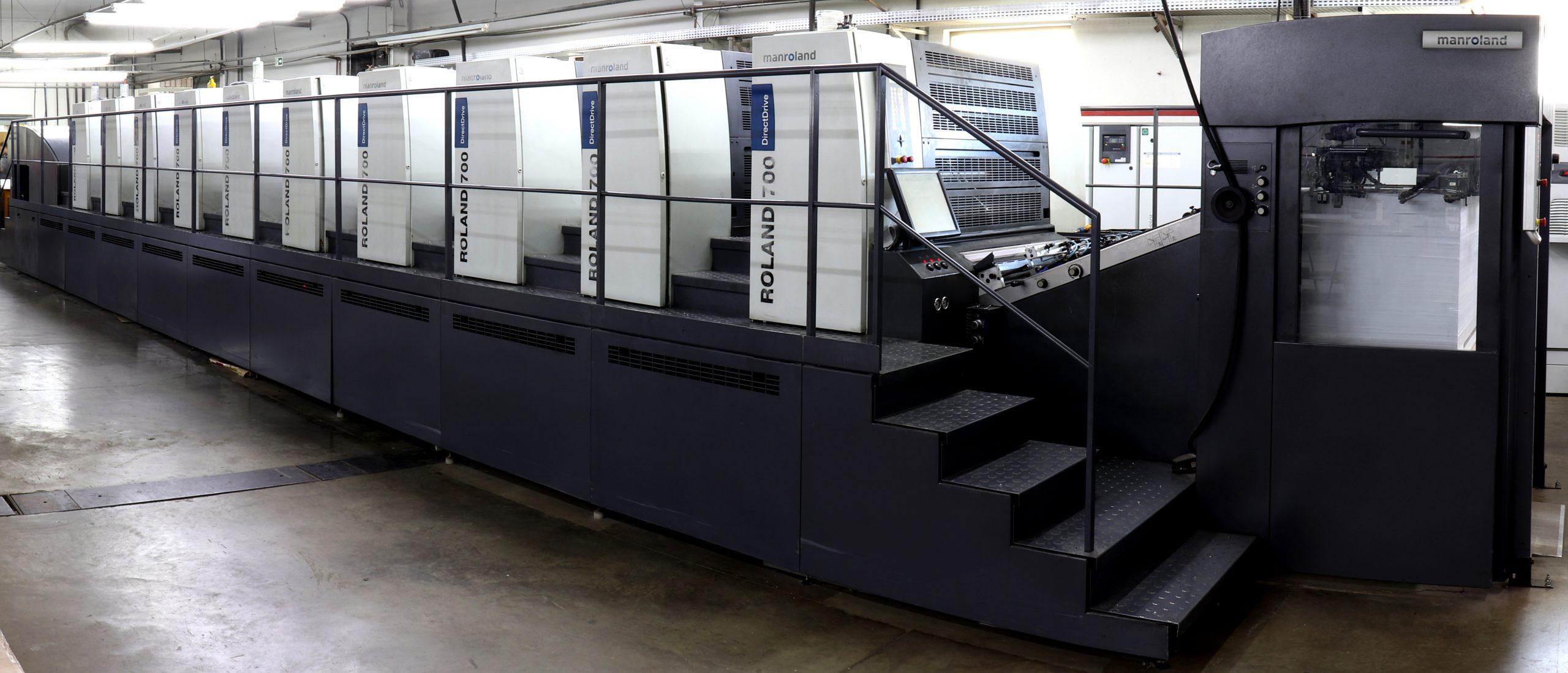 Impressora Off Set Roland