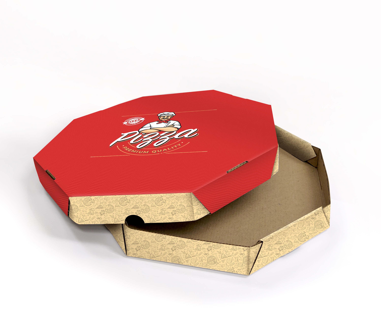 Caixa de pizza personalizada – Destaque a sua marca